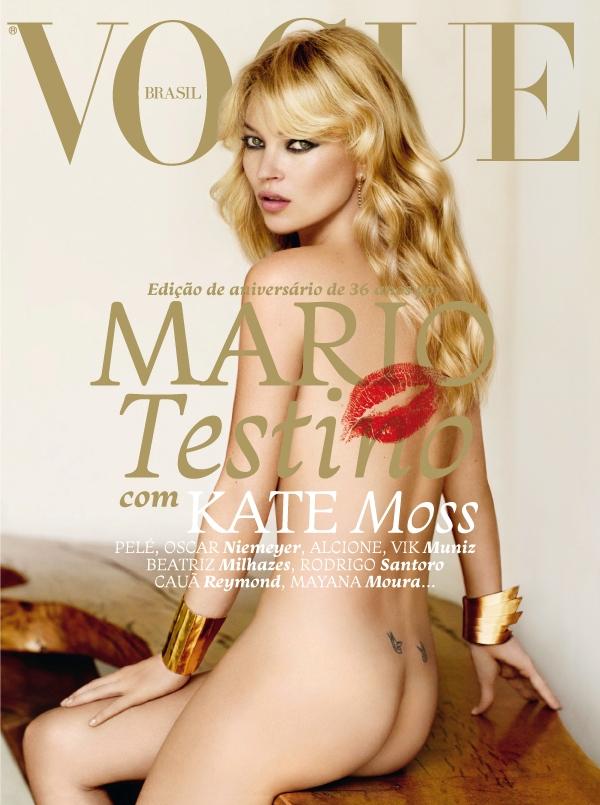 Capa Kate Moss - Maio