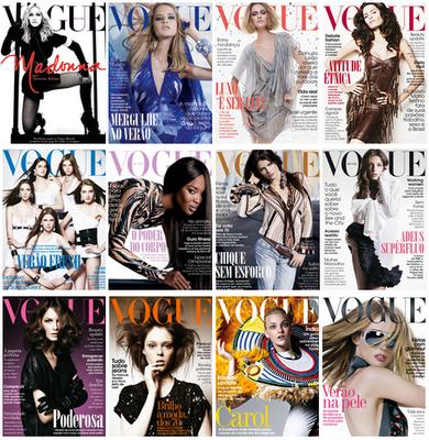 Capas Vogue 2008