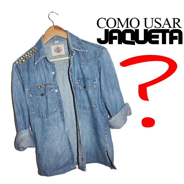Como usar Jaqueta