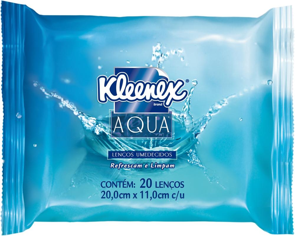 kleenex-aqua