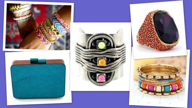 Shambalas, braceletes, pedrarias e peças em palha são os acessórios em alta para o verão 2012