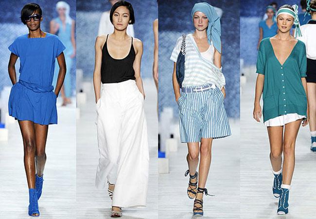 O sportwear é uma das fortes apostas para o verão 2012