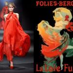 Art Nouveau-  Loie Fuller e o figurino