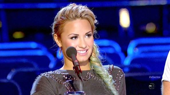 Demi+Lovato+X+Factor
