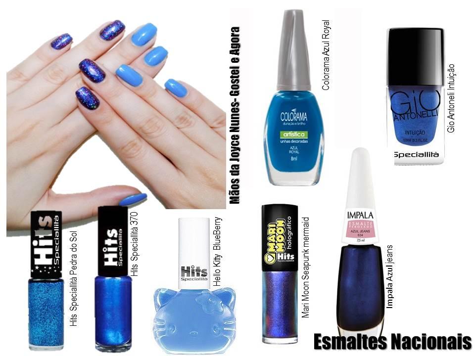 Esmalte azul 1