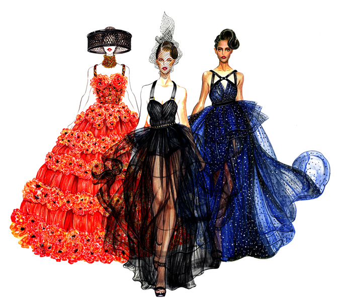 sunny-gu-fashion-illustrations