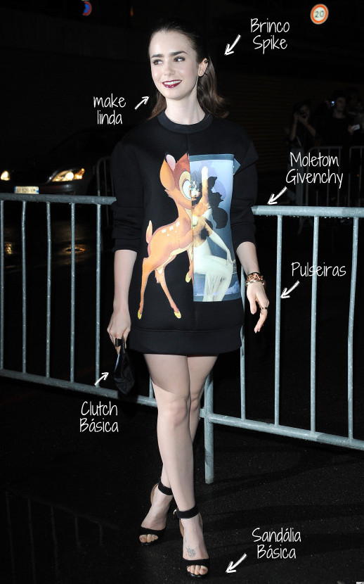 Givenchy: Outside Arrivals - Paris Fashion Week Womenswear SS14 - Day 6