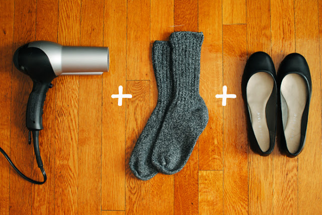 stretch out your shoes formula