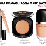 Detalhes da coleção de maquiagem (de babar) de Marc Jacobs.