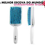 A melhor escova do mundo: QuikStyle Paddle Brush