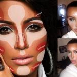 Produtos que facilitam a vida na hora de fazer o contorno a la Kim Kardashian.