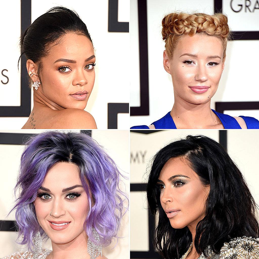 Grammy-Red-Carpet-Hair-Makeup