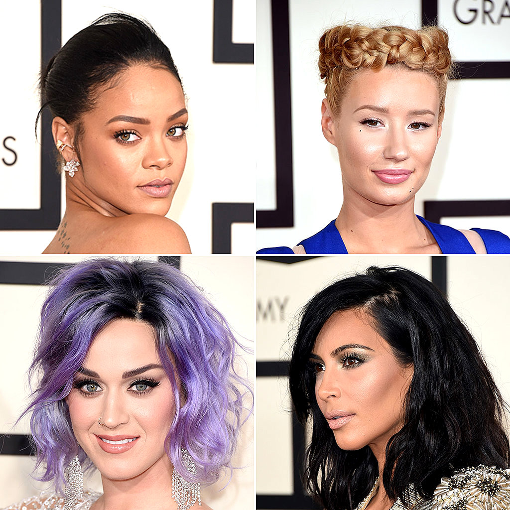 Grammy-Red-Carpet-Hair-Makeup