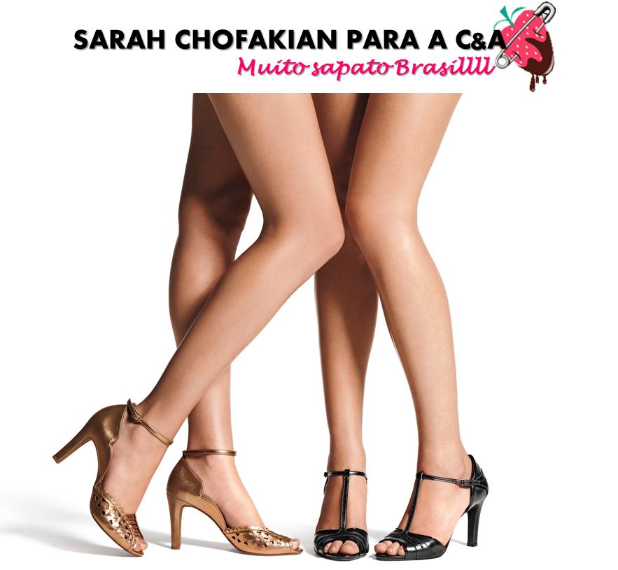 Sarah Chofakian para C&A