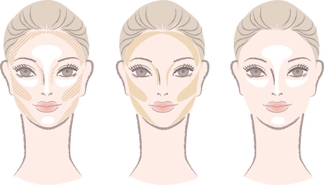 How-to-Properly-Apply-Bronzer-Face-Chart-shutterstock_116638780