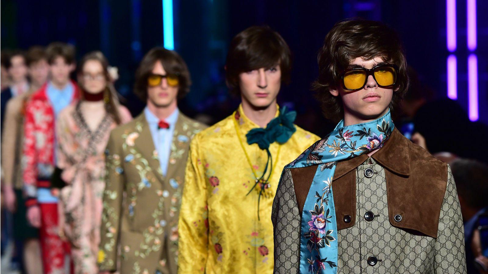 A nova cara da Gucci- compromisso com novos talentos.