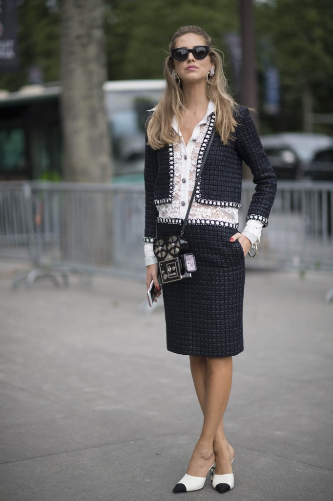 Toda de Chanel no Desfile Chanel