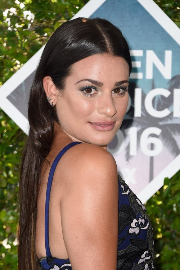 Lea-Michele-Hair-Makeup-2016-Teen-Choice-Awards